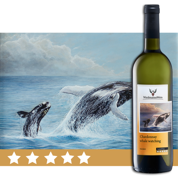 Chardonnay whale watching